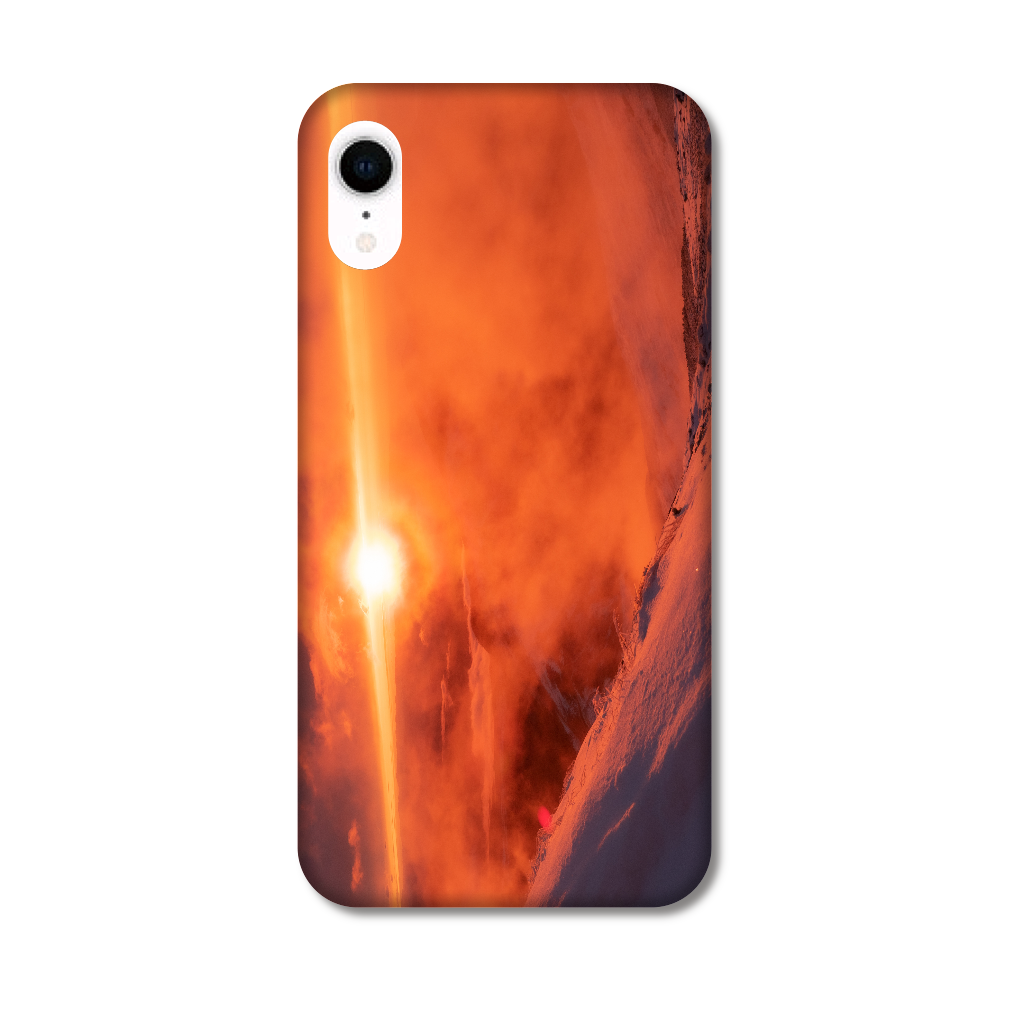 立山の夕焼け iPhoneXR