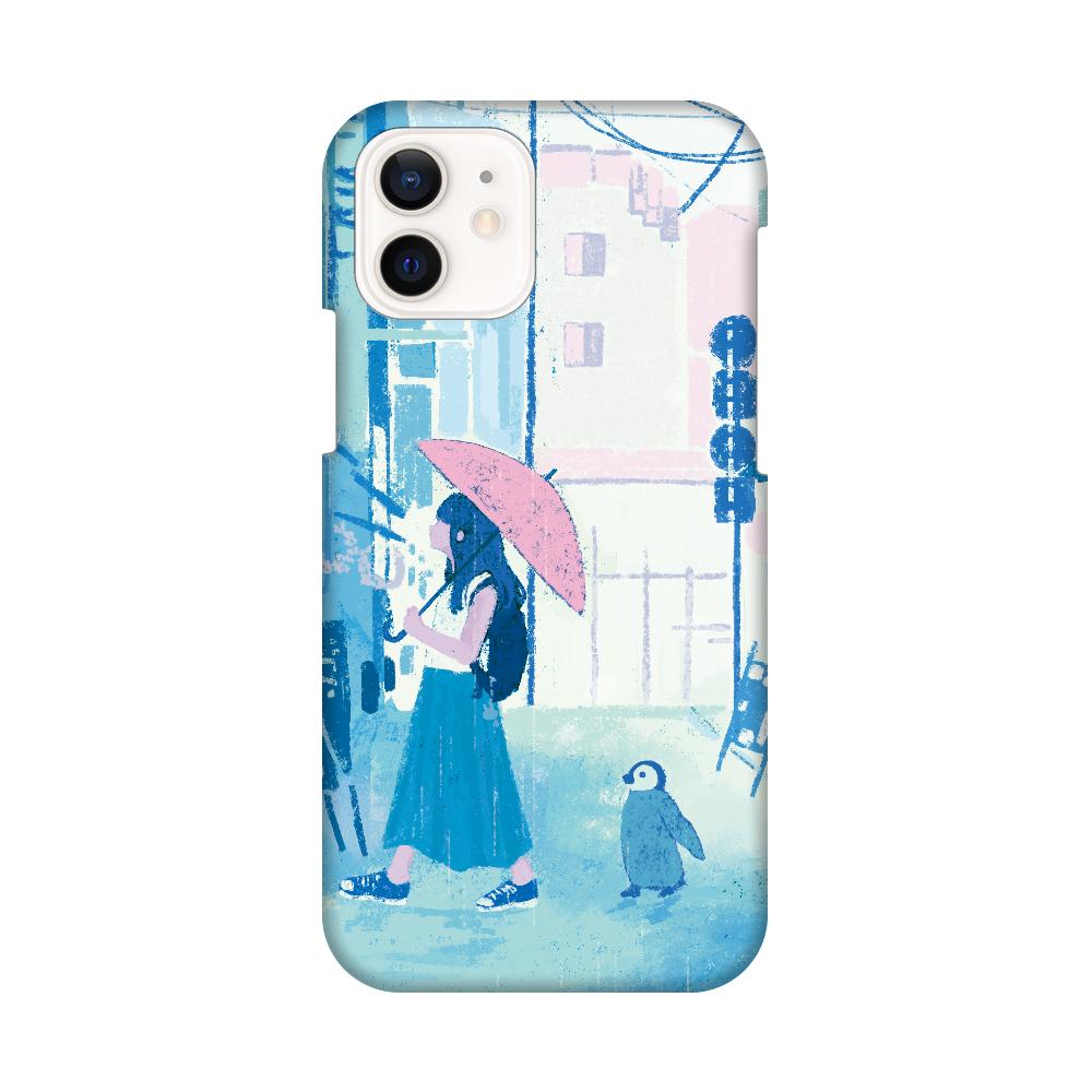 雨歩き スマホケース iPhone12 / 12 Pro
