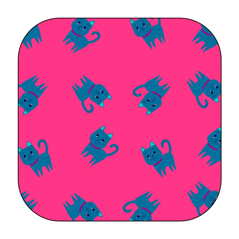 ViViVi Cat's -Kate The Noble Cat- Pink ワイヤレス充電器スクエア5W