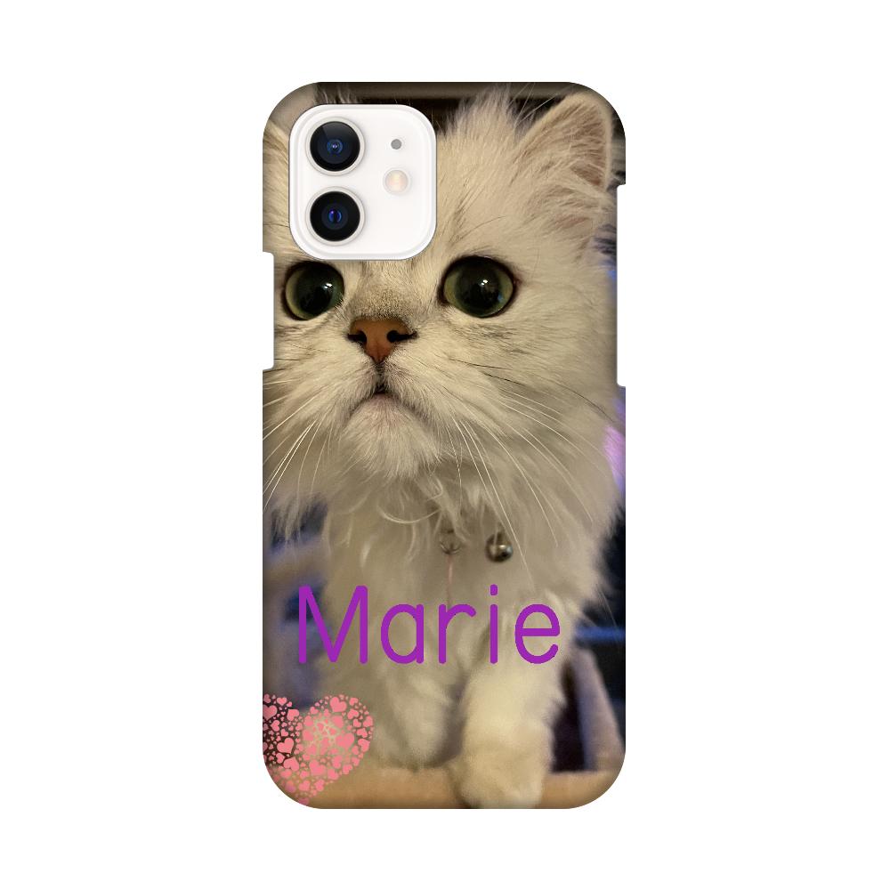 愛猫マリーちゃんのスマホカバー iPhone12 / 12 Pro