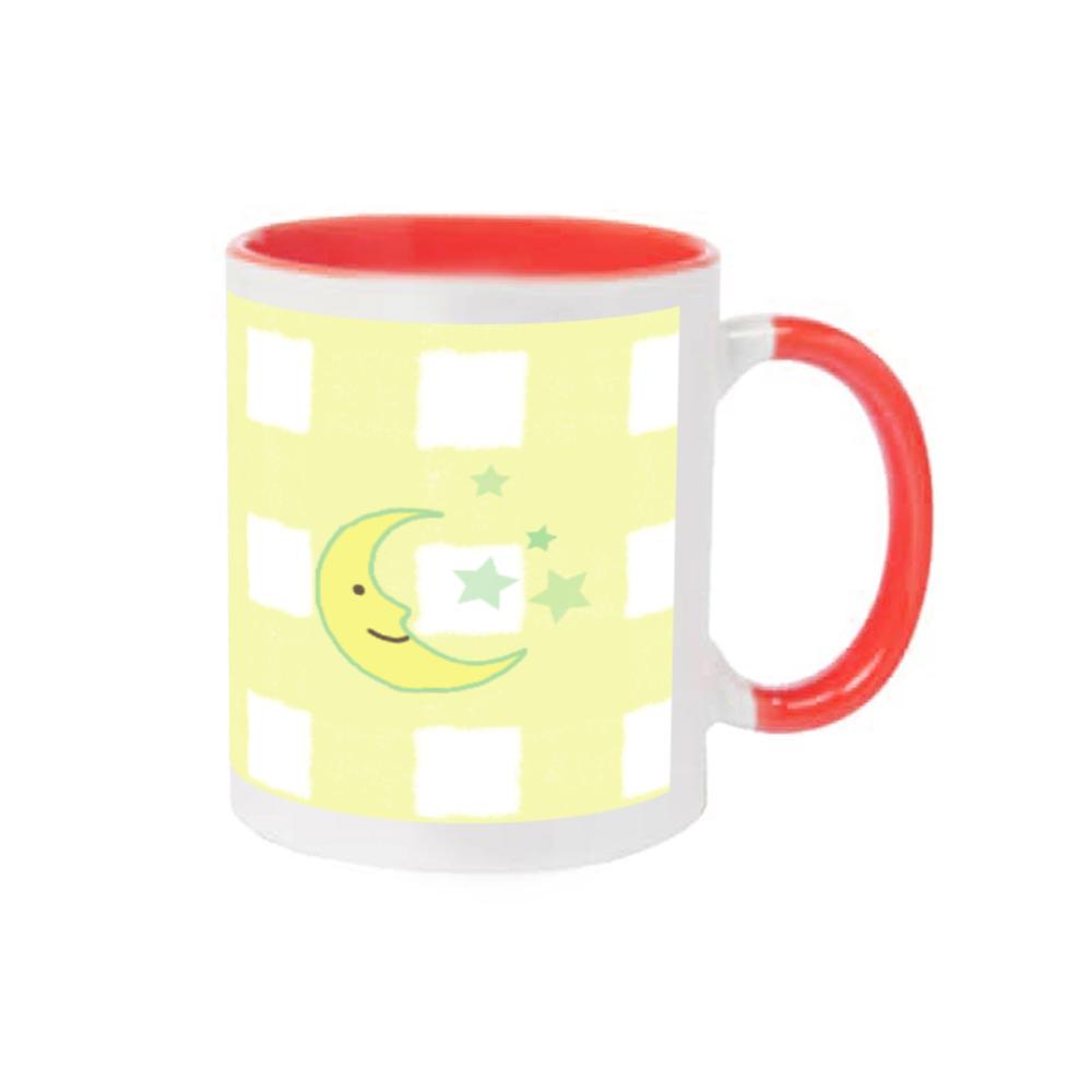 おやすみ イエロー 2トーンマグカップ