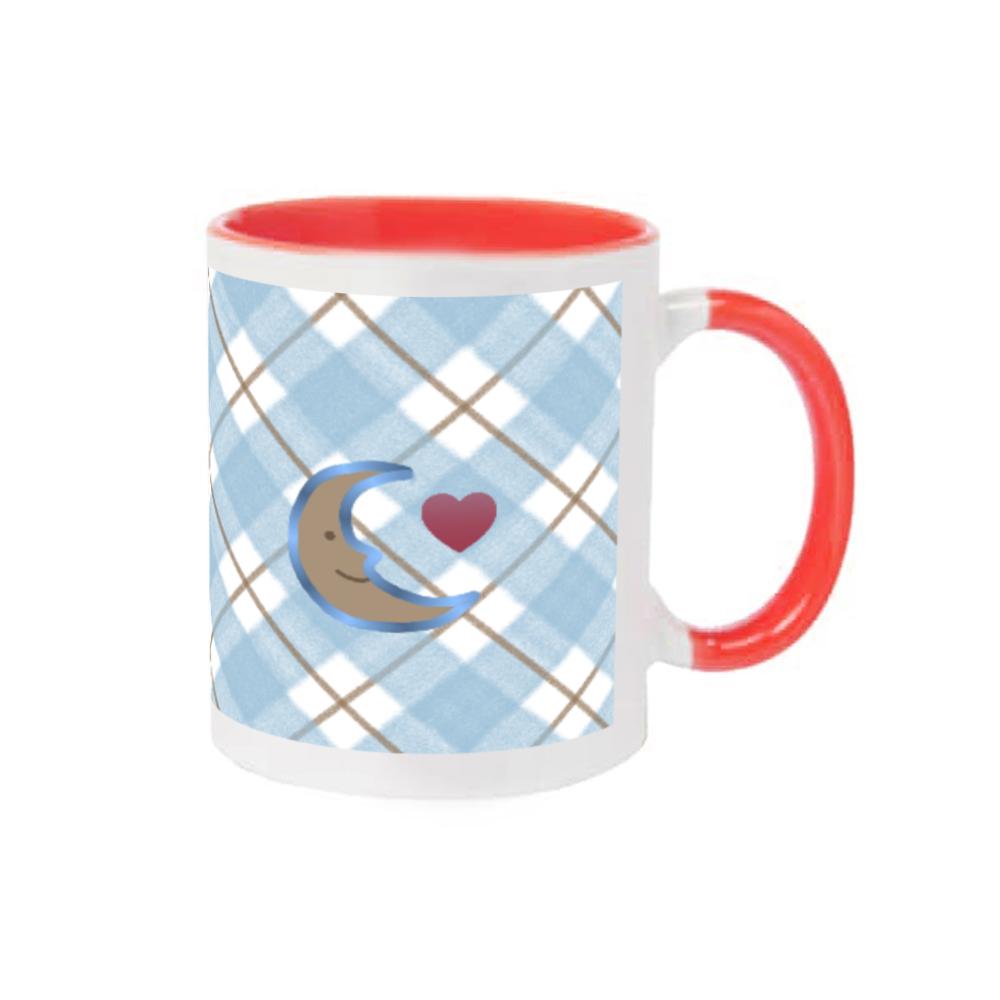 おやすみ ブルー 2トーンマグカップ