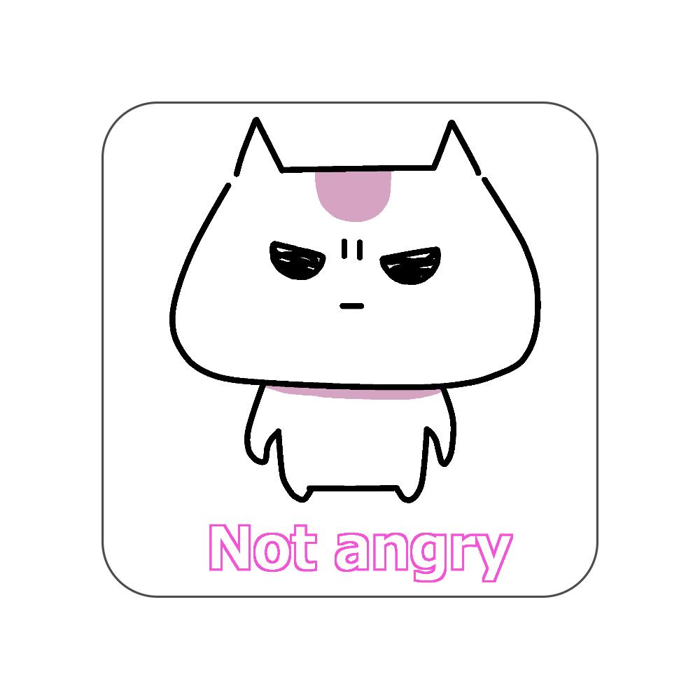 Not angry vol.1 全面プリントハンカチタオル