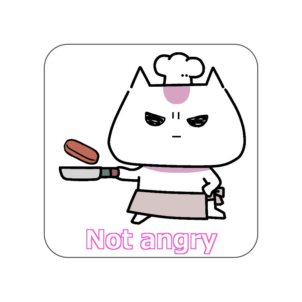 Not angry vol.3 全面プリントハンカチタオル