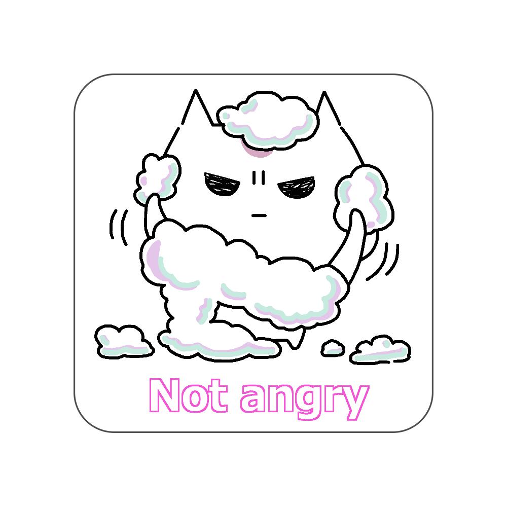 Not angry vol.5 全面プリントハンカチタオル