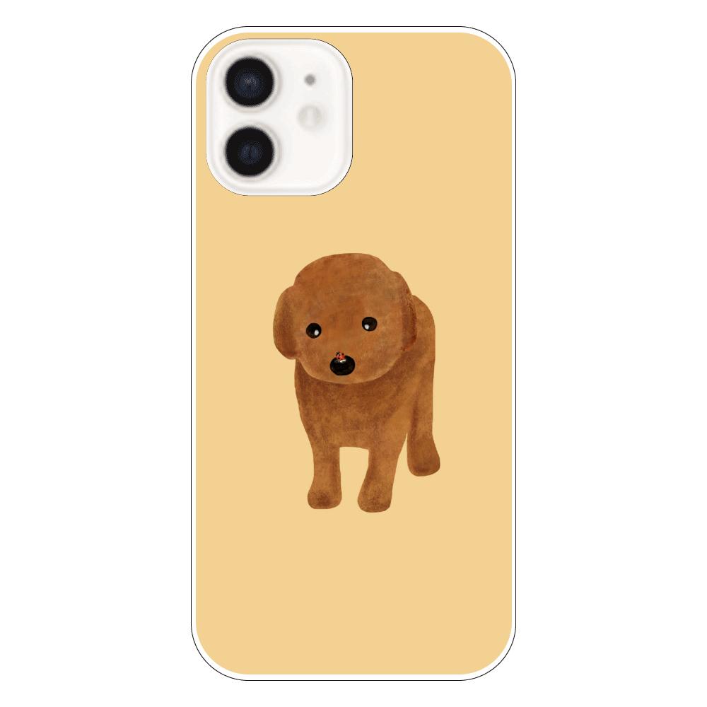 てんとう虫とわんこ iPhone12(透明)