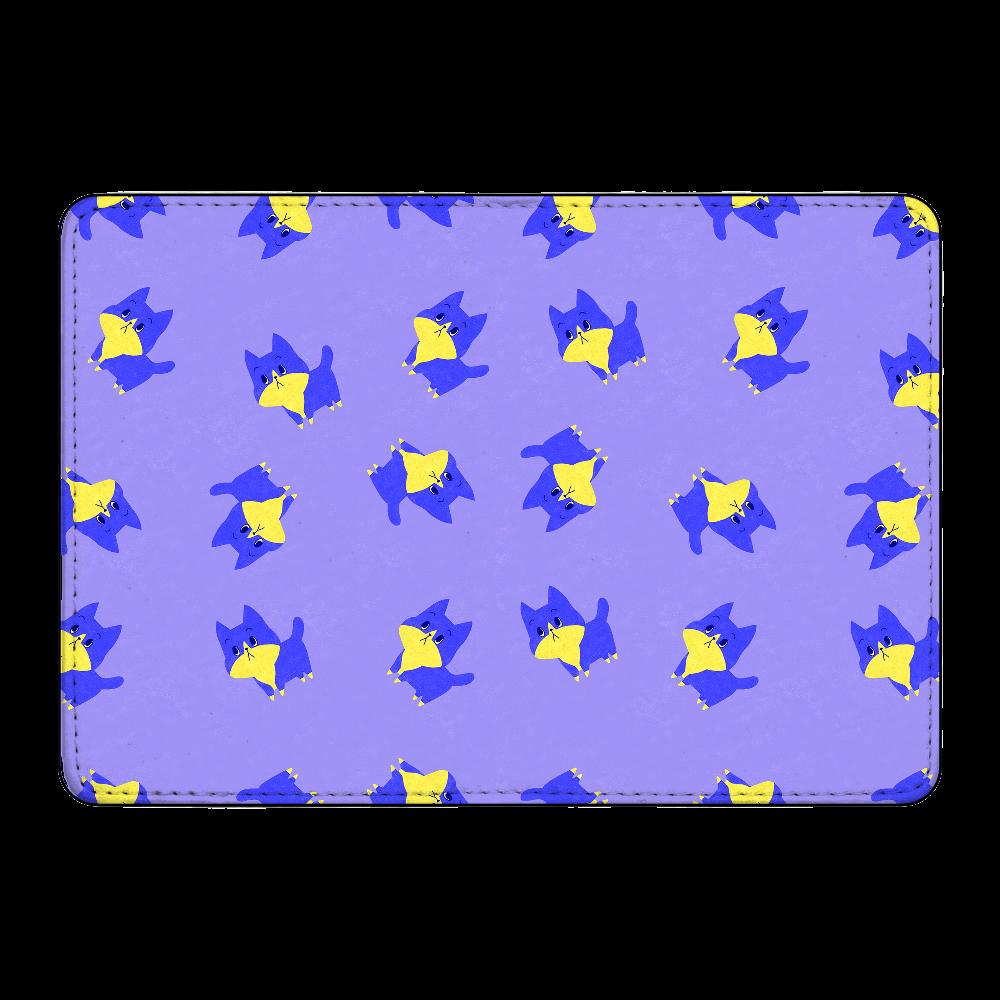 ViViVi Cat's -Blue The Chubby Cat- Purple カード収納ケース