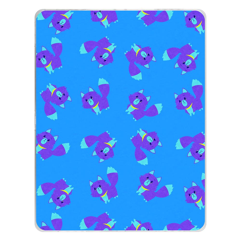 ViViVi Cat's -Roo The Gloomy Cat- iPad Pro 12.9インチ(2018年モデル) タブレットケース