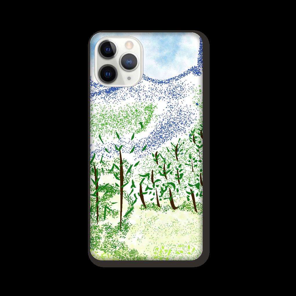 iPhone ケース【マイナスイオン感じる山景】 iPhone 11 Pro