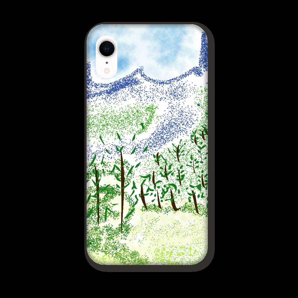 iPhone ケース【マイナスイオン感じる山景】 iPhoneXR