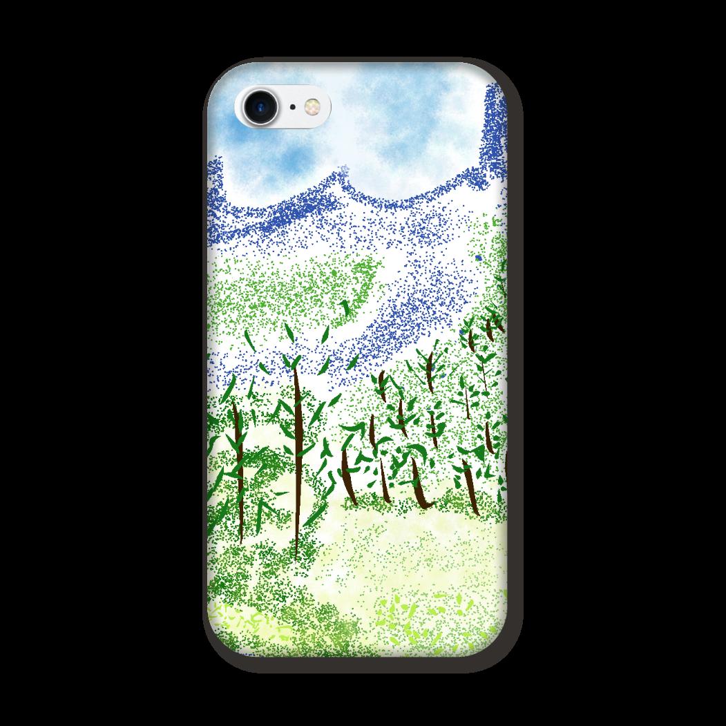 iPhone ケース【マイナスイオン感じる山景】 iPhone7