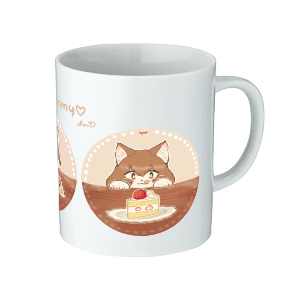 It looks yummy ♡ マグカップ 陶器マグストレート(M)