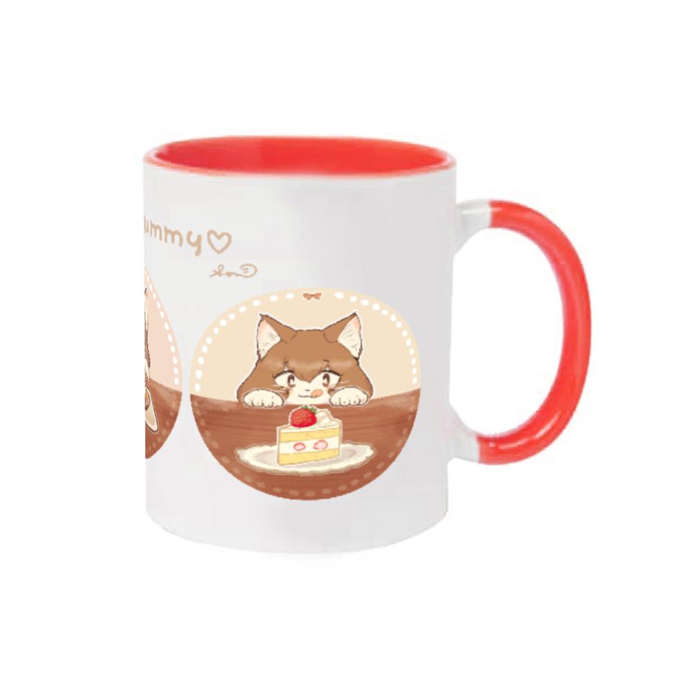 It looks yummy ♡ マグカップ(カラー) 2トーンマグカップ
