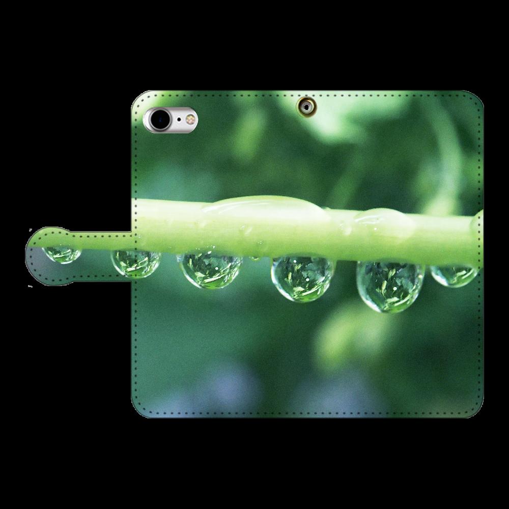 しずくハーモニー-01.iPSE2 iPhoneSE2 手帳型スマホケース