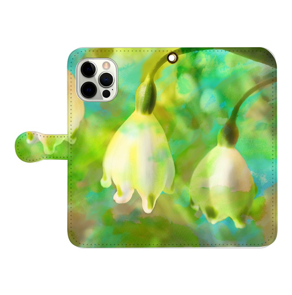 揺れる思い、iPmax iPhone12pro max 手帳型スマホケース