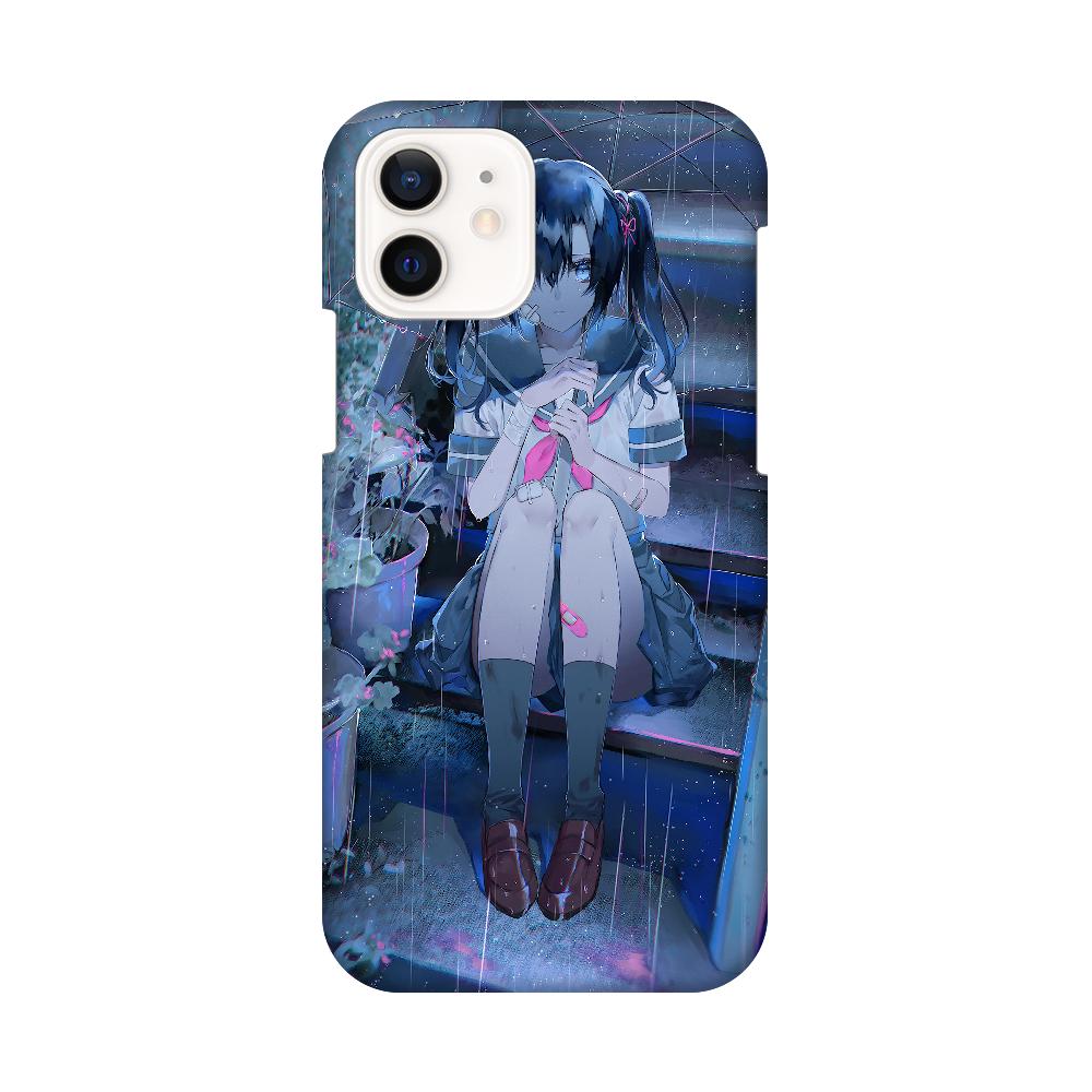 捨て猫美月ちゃん スマホケース iPhone12 / 12 Pro