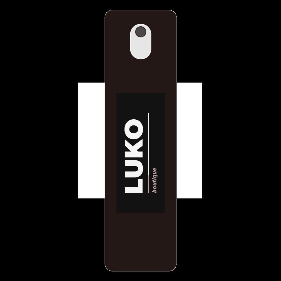ブティックルコ 携帯用スプレーボトル ブラック 携帯用スプレーボトル