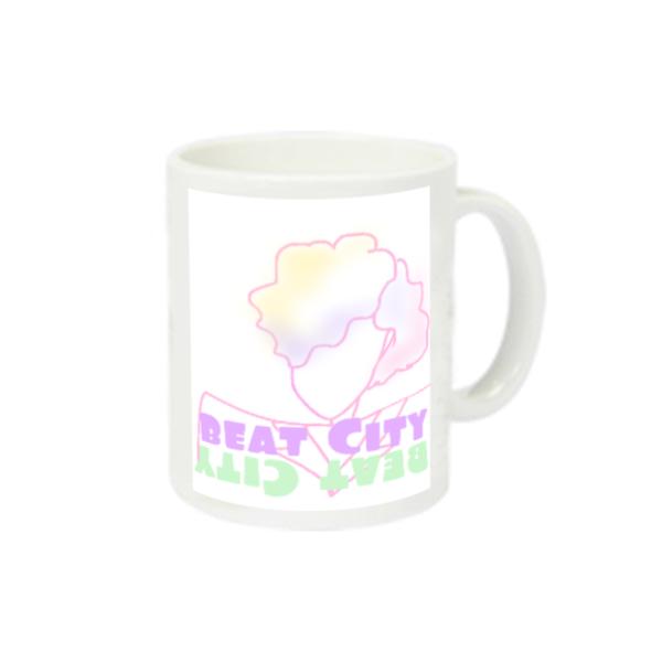 Beat City スーパーホワイトマグカップV1 ホワイト スーパーホワイトマグカップV1