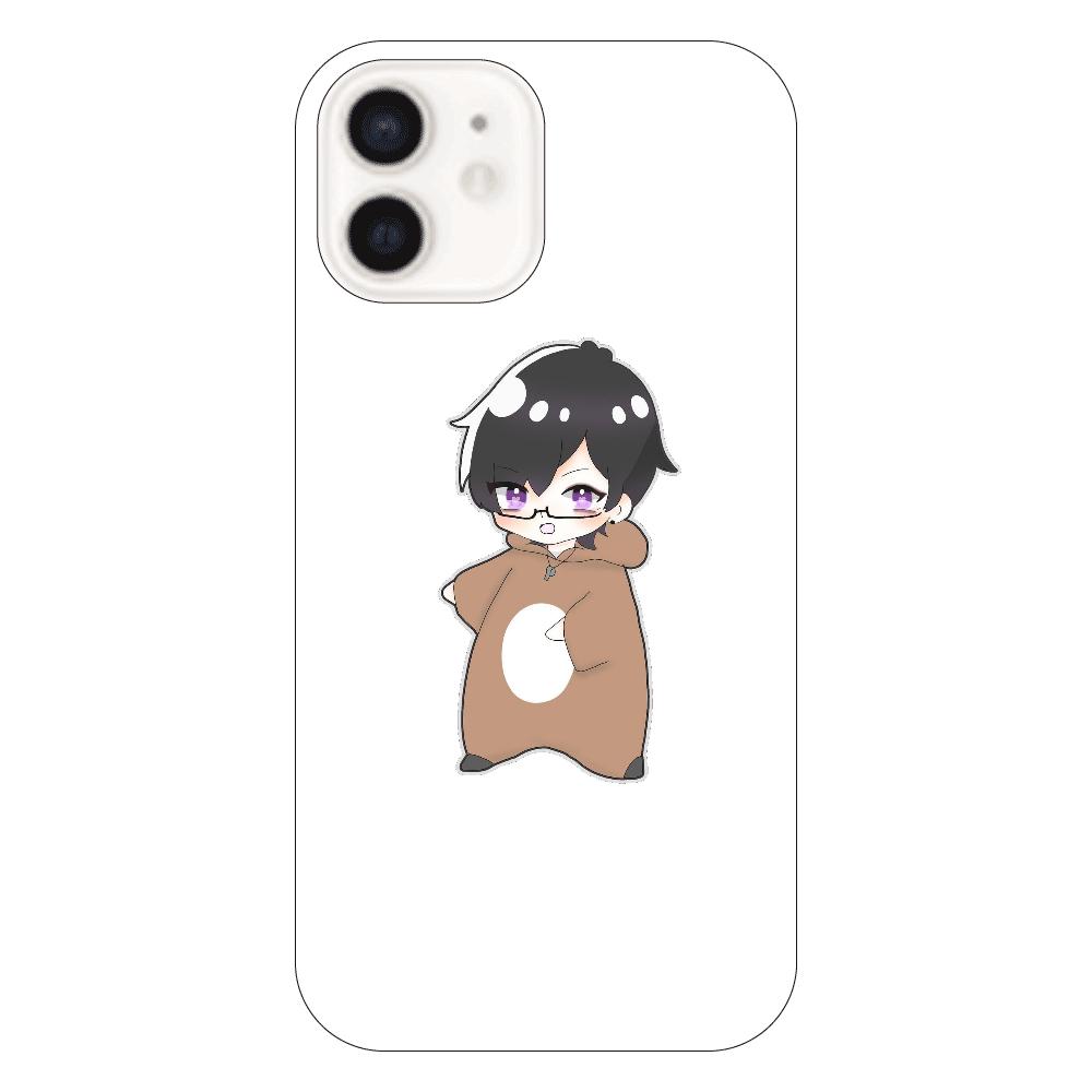 めんとすグッズ iPhone12(透明)