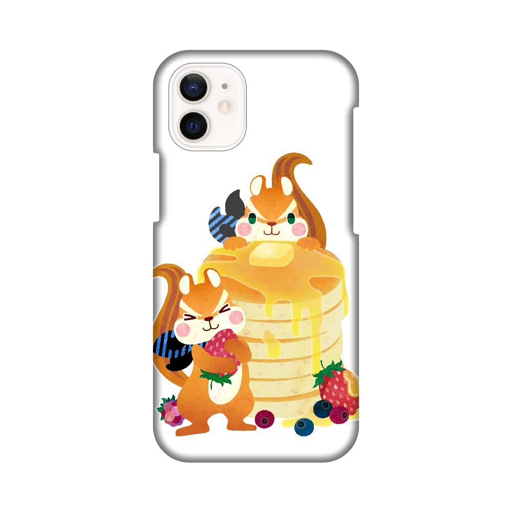 シマリスパンケーキなiPhoneケース iPhone12 mini