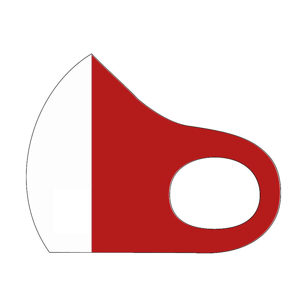 イタリア国旗 スポーツマスク