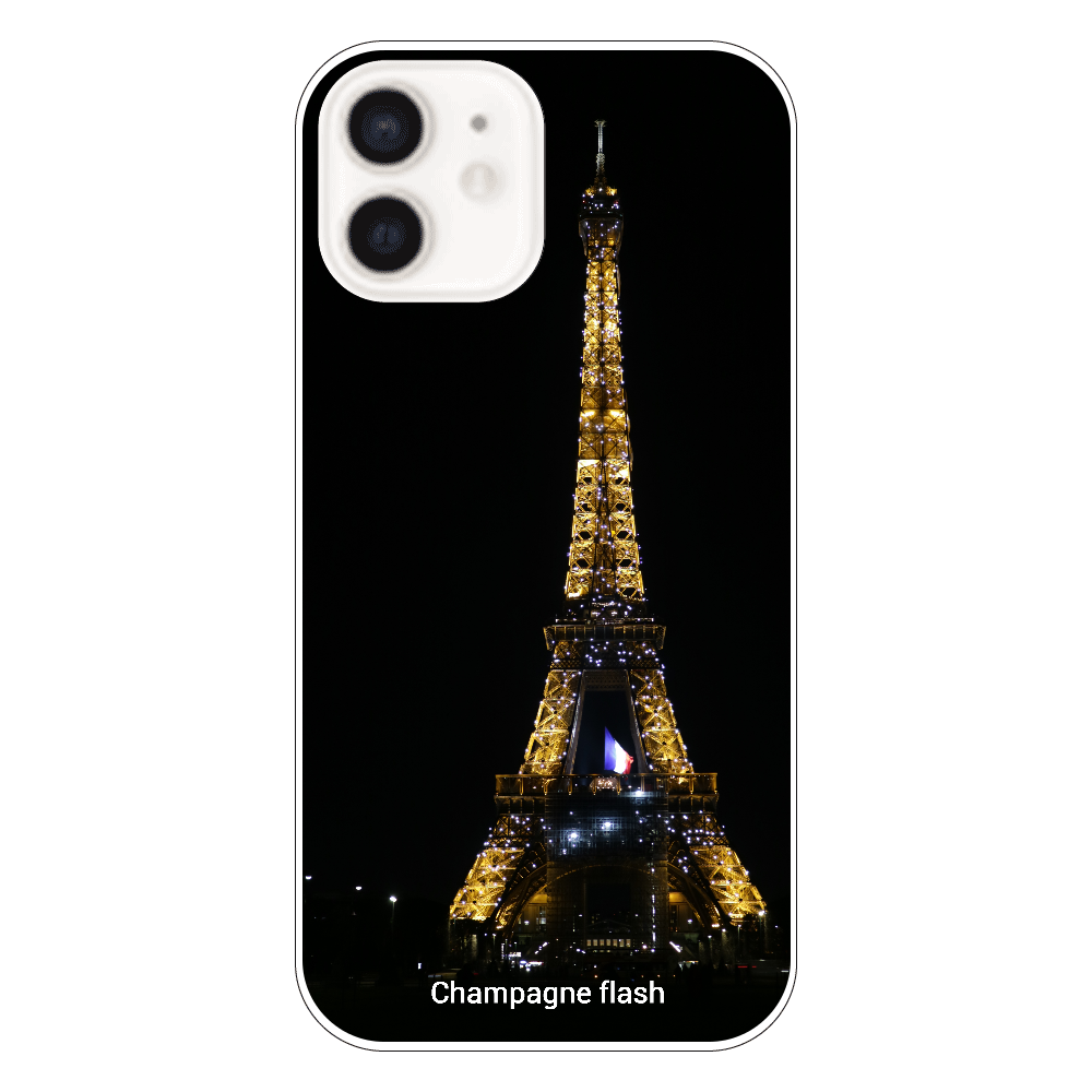 Champagne flash, Paris iPhone12(透明)