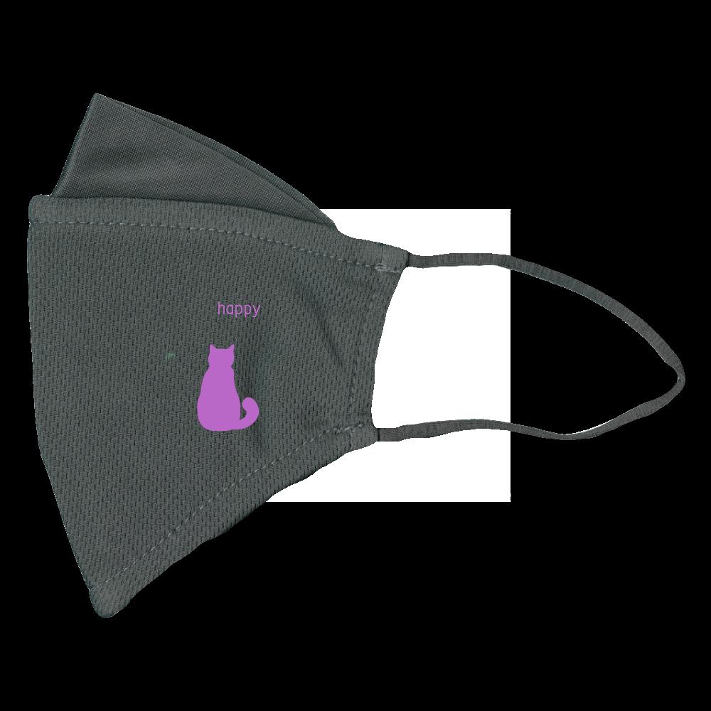 猫マスク ぴったりフィットマスク(接触冷感)