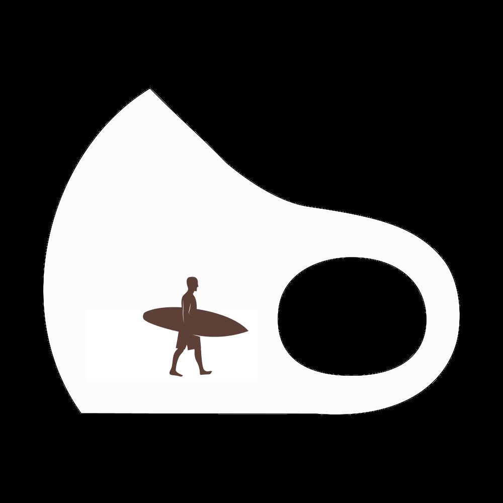 サーフィンマスク白 スポーツマスク