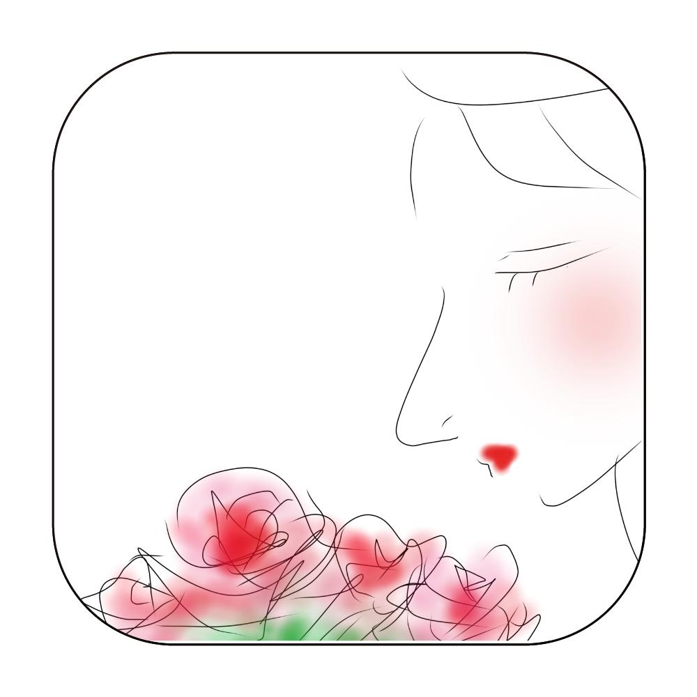 花束を ワイヤレス充電器スクエア5W