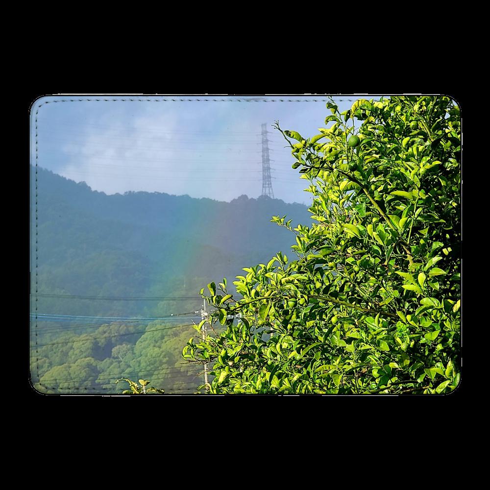 虹と緑のケース カード収納ケース