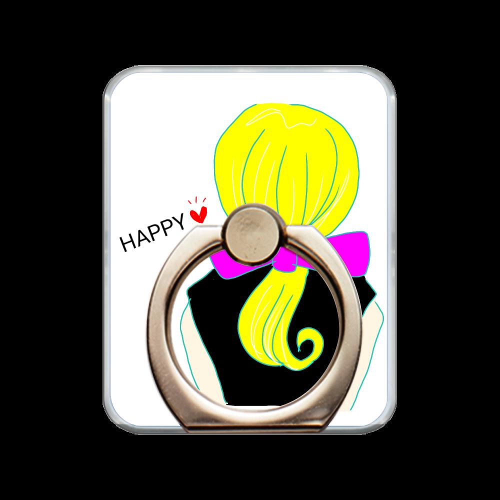 Happy スマホリング