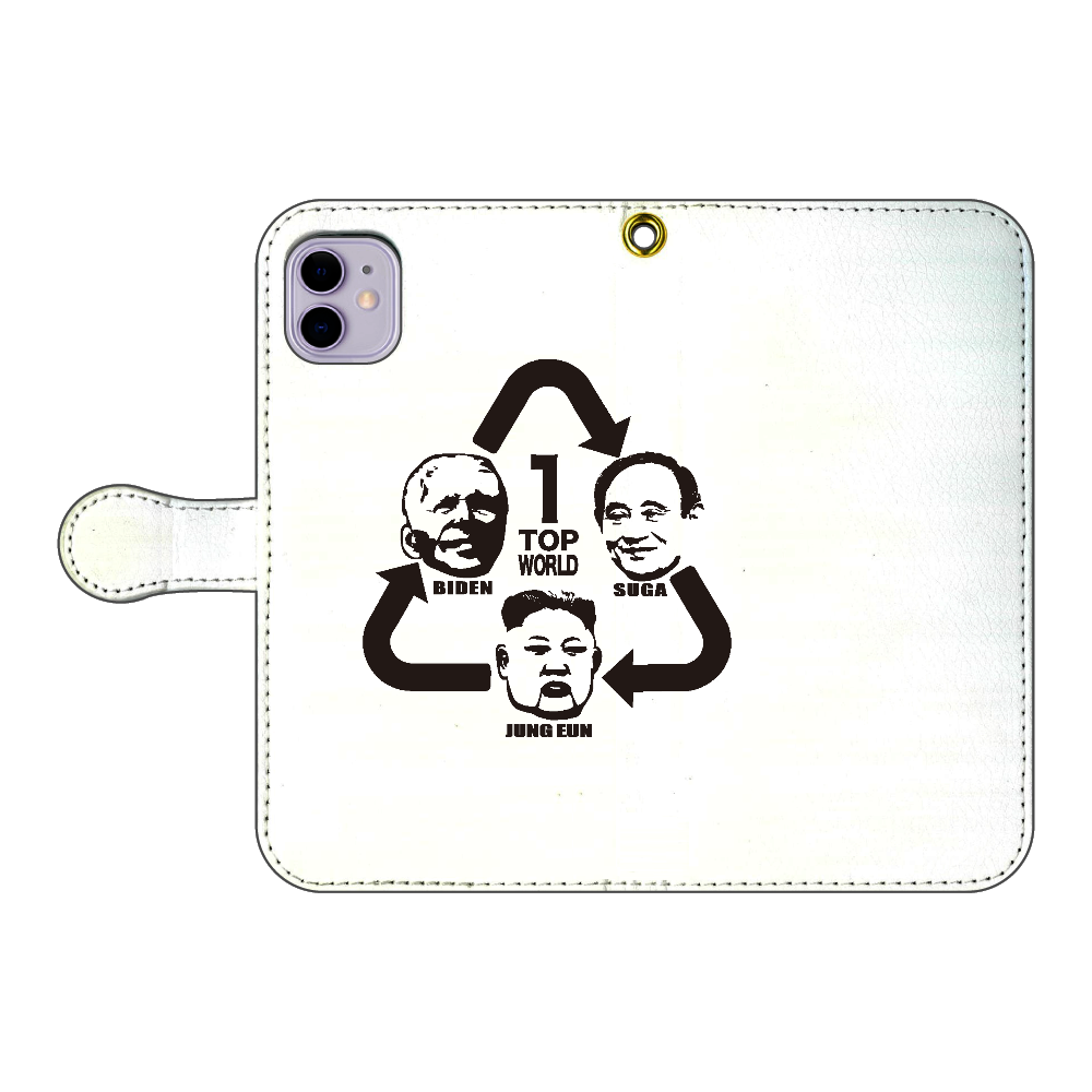 TOP -WORLD- iPhone11 手帳型スマホケース