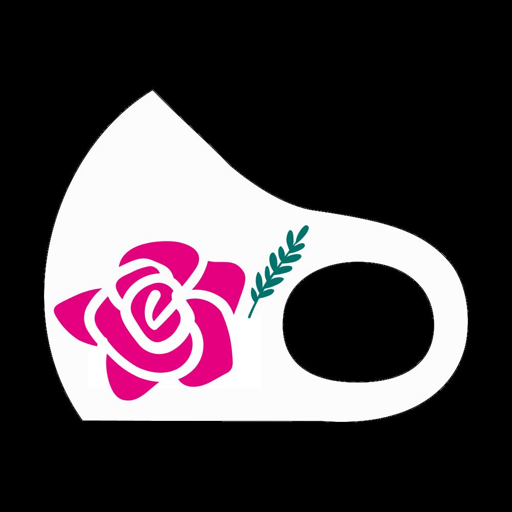 薔薇マスク スポーツマスク