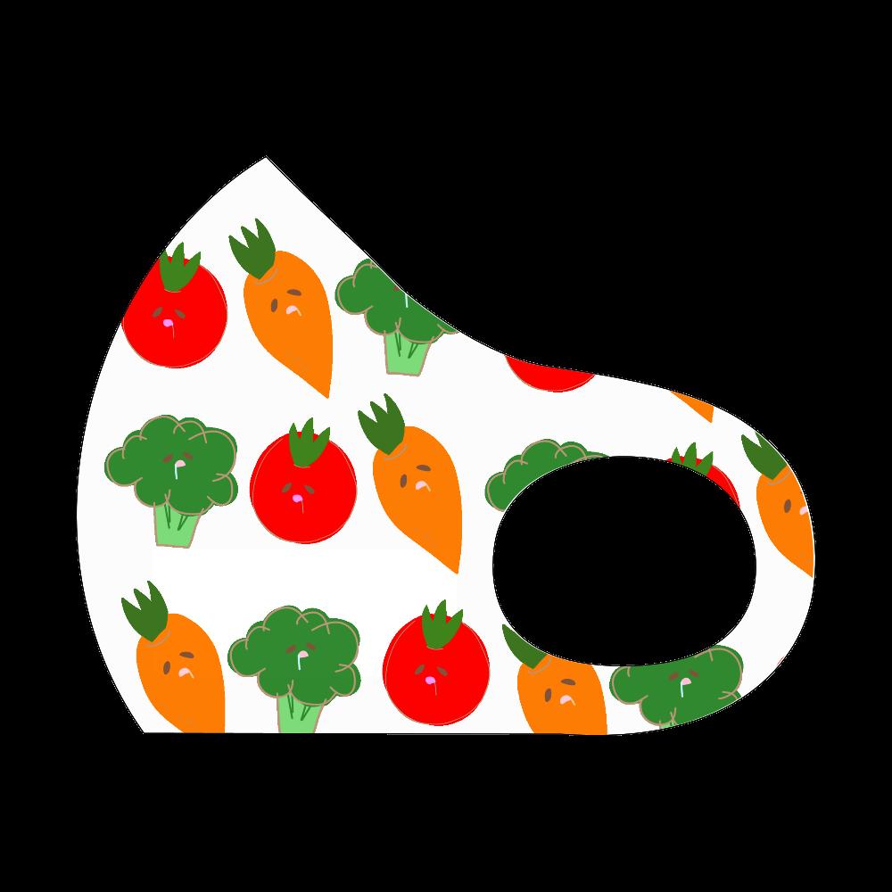 野菜いっぱいマスク スポーツマスク