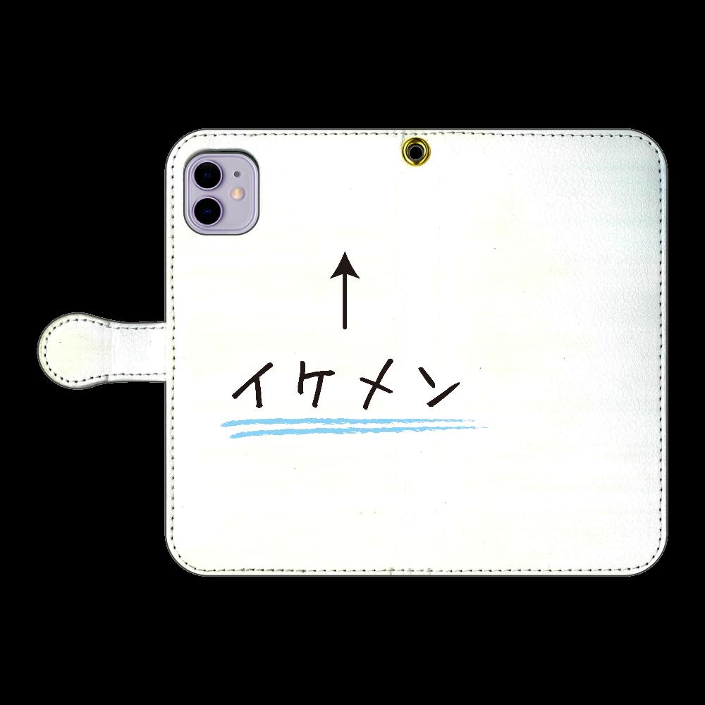 イケメン↑ iPhone11 手帳型スマホケース