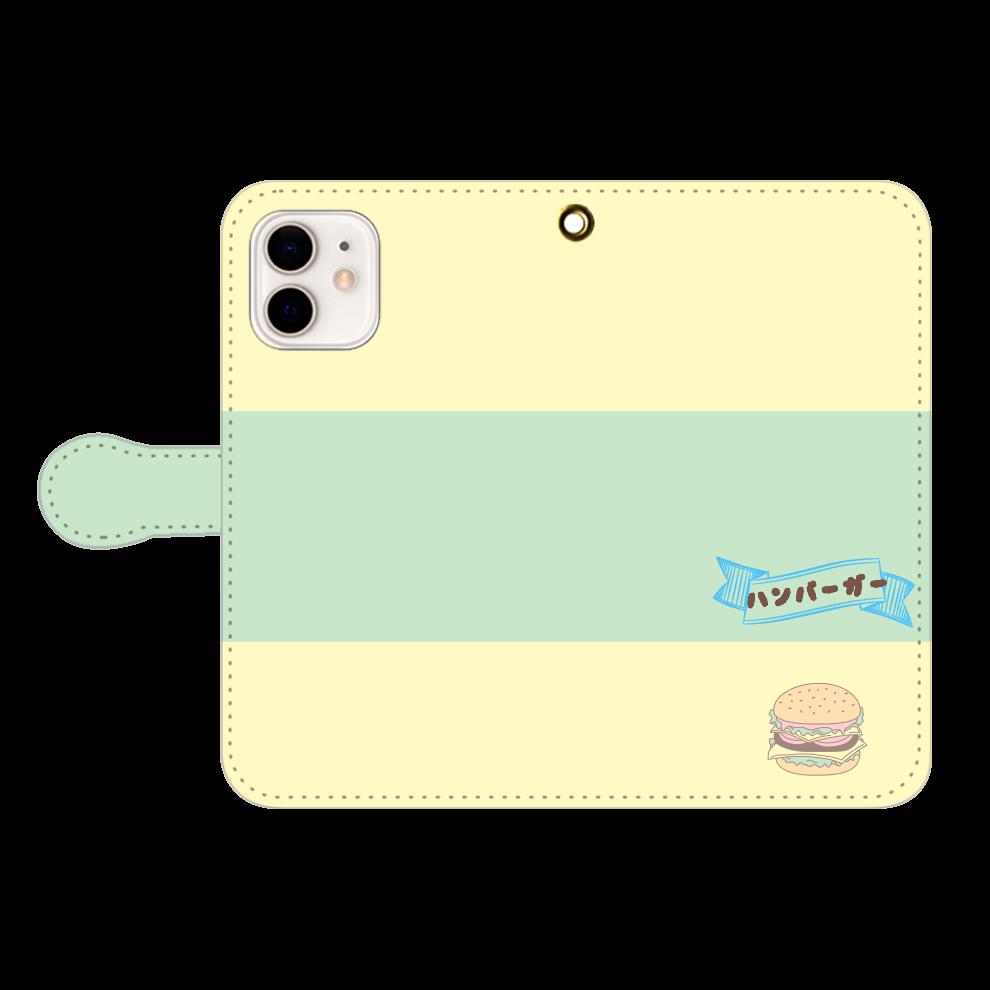 「2021年7月26日 09:55」に作成したデザイン iPhone12/12pro 手帳型スマホケース