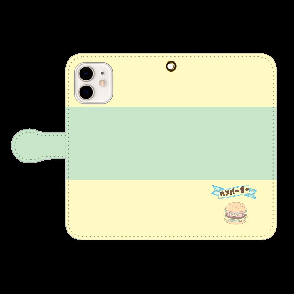 「2021年7月26日 10:01」に作成したデザイン iPhone12/12pro 手帳型スマホケース