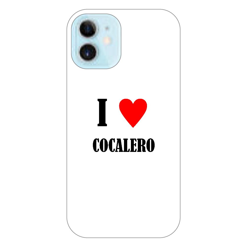 【お酒大好きシリーズ】I ♥ コカレロ iPhone12 mini(透明)