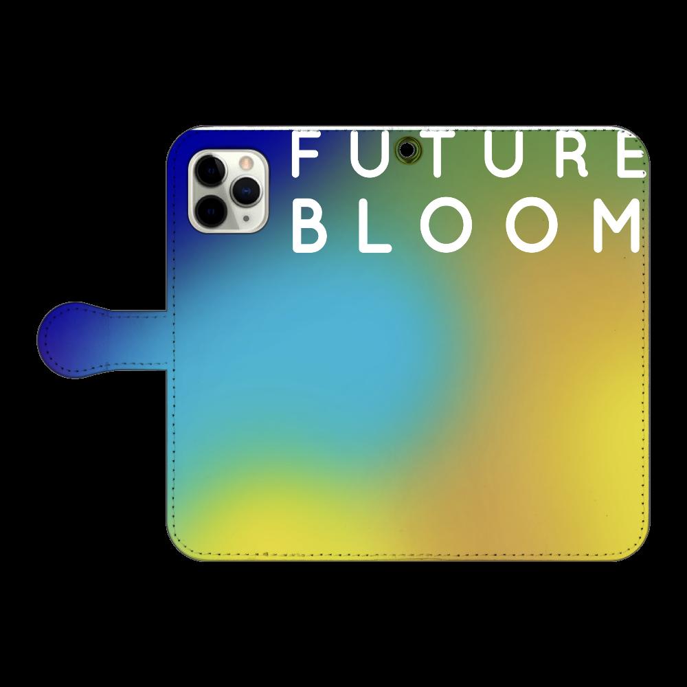 未来を咲かす iPhone11 Pro 手帳型スマホケース