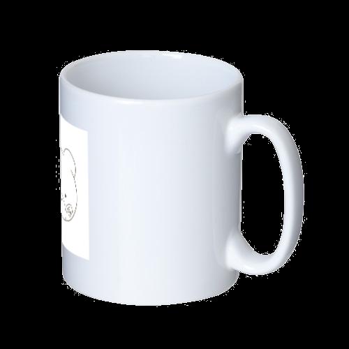 くまのすけ(色無し) マグカップ  ホワイト