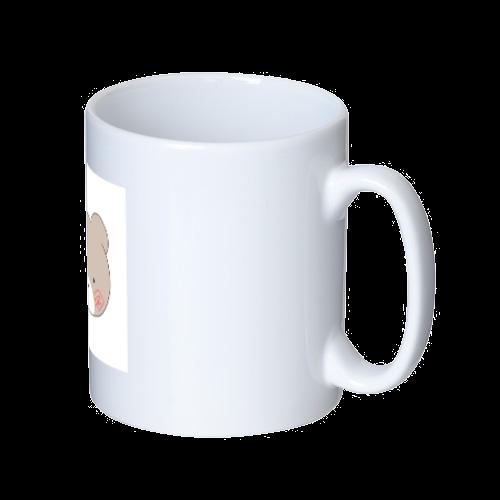 くまのすけ(カラー) マグカップ  ホワイト