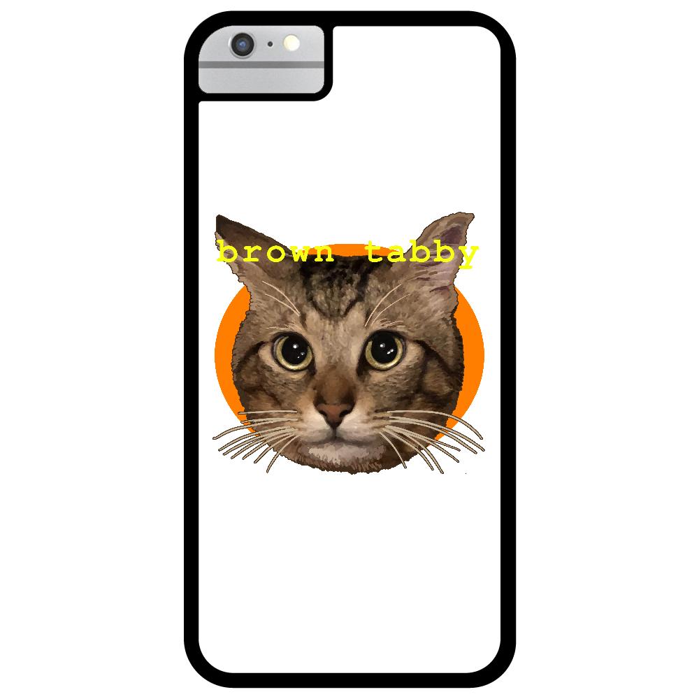 キジトラ大好き iPhone6_プリントパネルラバーケース