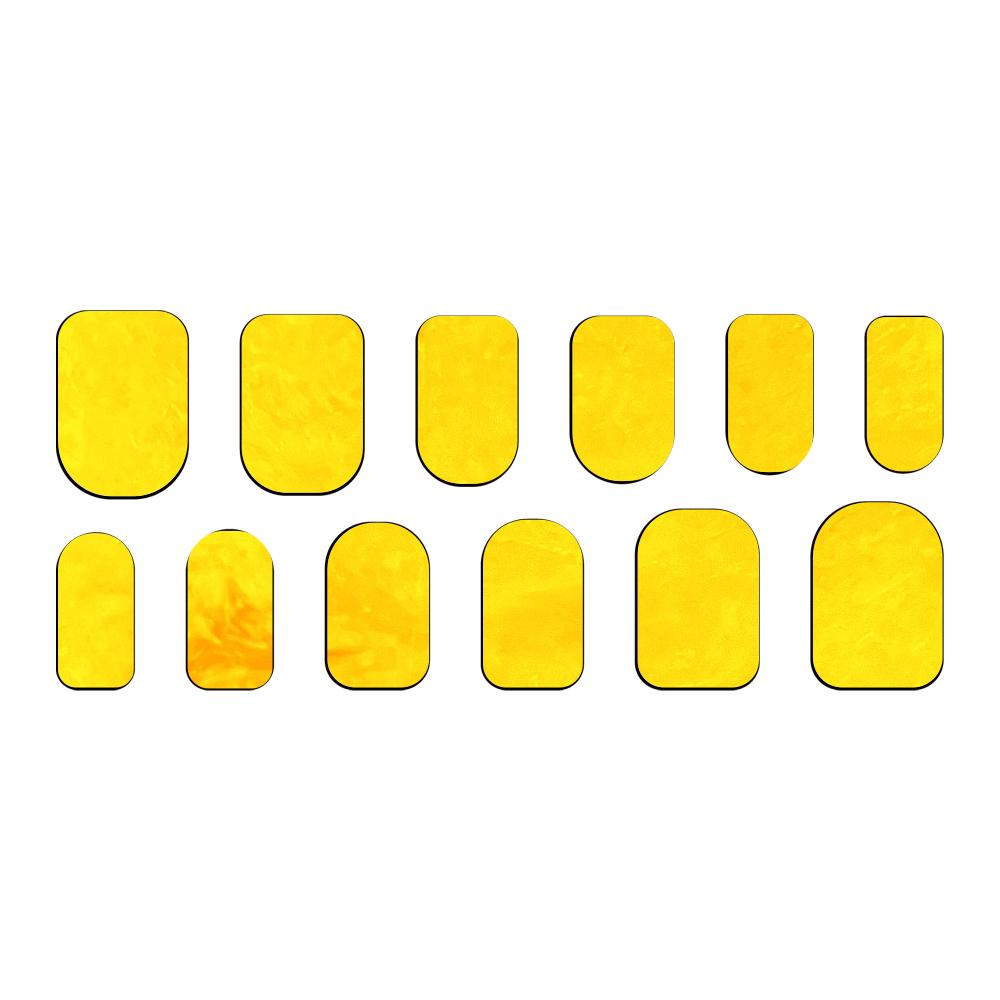 すて黄。 ネイルシール