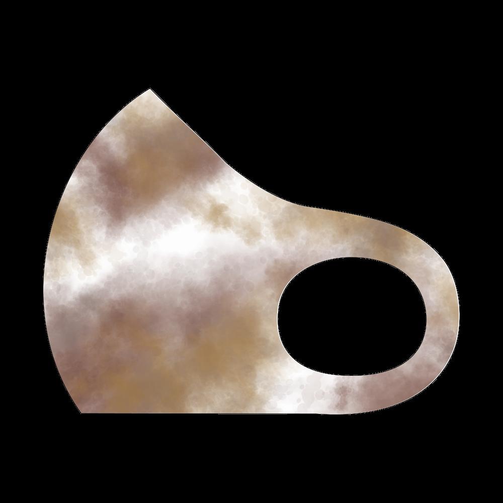 タイダイ Brown スポーツマスク