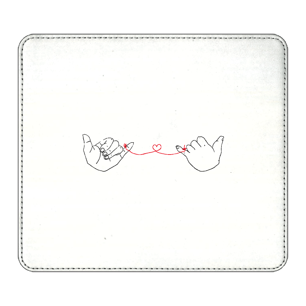 赤い糸 マウスパッド