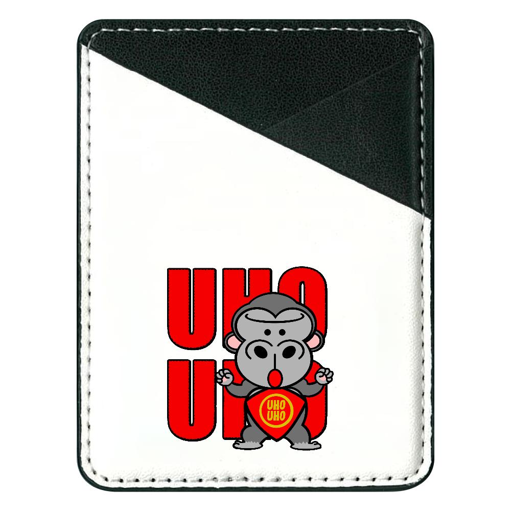 UHOUHOゴリッキー(金太郎バージョン) 貼り付けパスケース(スマホ用)