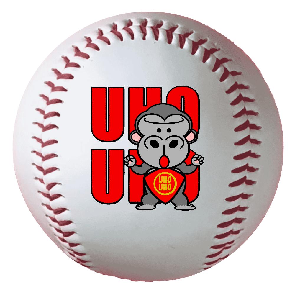 UHOUHOゴリッキー(金太郎バージョン) 野球ボール(硬式)