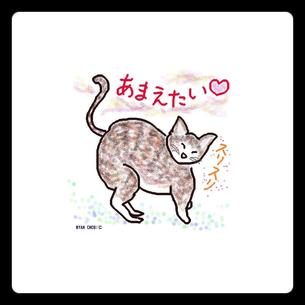 NYAN CHOBI© 白雲石コースター 四角