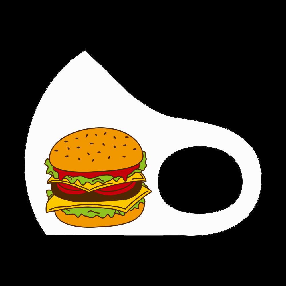 もぐもぐハンバーガー スポーツマスク