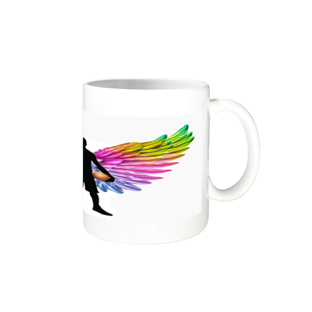 バスケ好きな方へ( ꈍᴗꈍ) 全面印刷 マグカップ